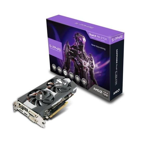 Sapphire R9 270X OC DUAL-X 2GB