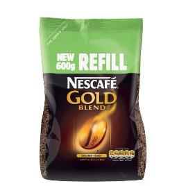 Nescafe Gold Blend Coffee - 600g Refill Pack Reviews