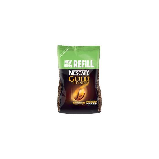 Nescafe Gold Blend Coffee - 600g Refill Pack