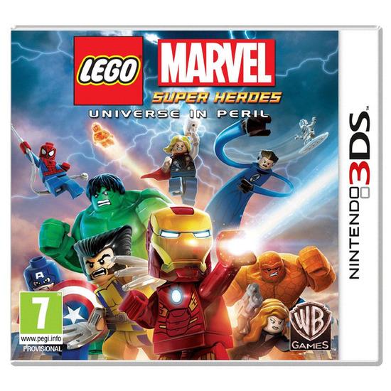 Nintendo LEGO Marvel Super Heroes - for 3DS