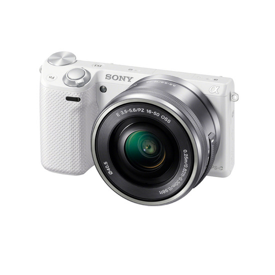 SONY NEX-5TLW Compact System Camera - White