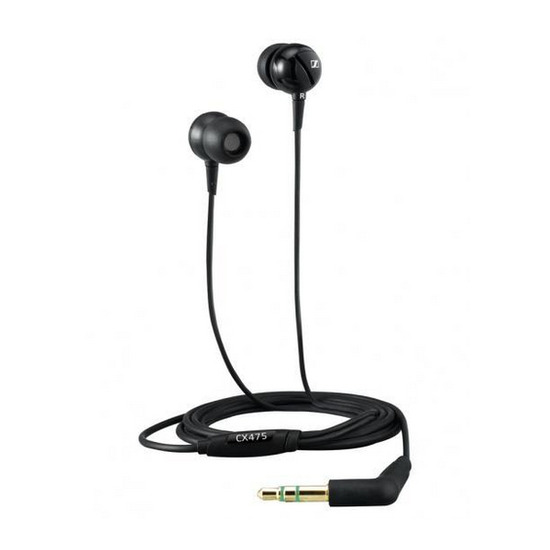 Sennheiser CX 475 Headphones - Black