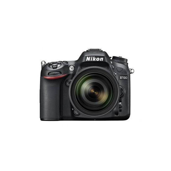NIKON D7100 Camera Body with Lens 16-85mm VR [Black]