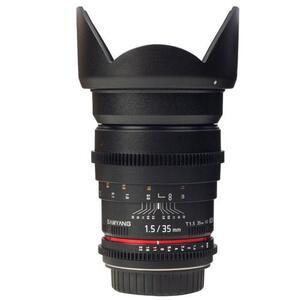 Photo of Samyang 35MM T1.5 AS IF UMC VDSLR Lens (Canon EF) Lens