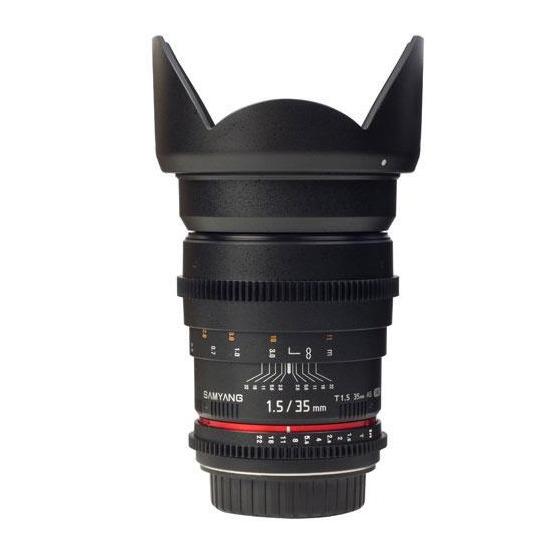 Samyang 35mm T1.5 AS IF UMC VDSLR Lens (Canon EF)
