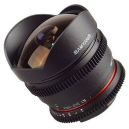 Samyang 8mm T3.8 UMC Fish-eye CS II VDSLR Lens (Nikon F)