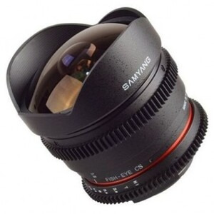 Photo of Samyang 8MM T3.8 UMC Fish-EYE CS II VDSLR Lens (Nikon F) Lens
