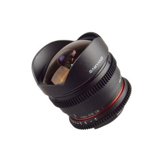 Samyang 8mm T3.8 UMC Fish-eye CS II VDSLR Lens (Nikon F)