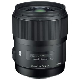 Sigma 35mm f/1.4 DG HSM Art Wide Angle Telephoto Lens Canon Fit Reviews
