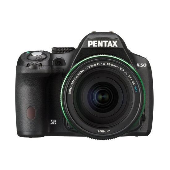 Pentax K-50 with 18-135mm Lens
