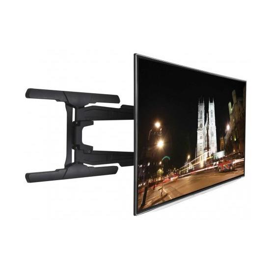 B-Tech Ultra Slim Double Arm Cantilever TV Bracket