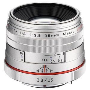 Photo of Pentax HD DA 35MM F2.8 Silver Lens Lens