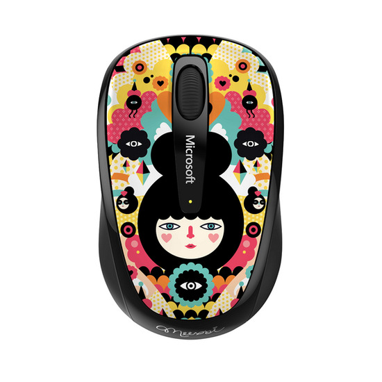 Microsoft GMF-00368 Mobile 3500 Wireless BlueTrack Mouse - Multicoloured