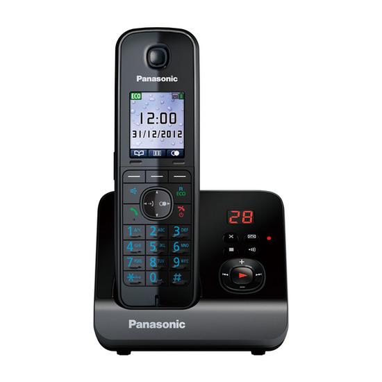 Panasonic KX-TG8161EB Cordless Phone with Answering Machine