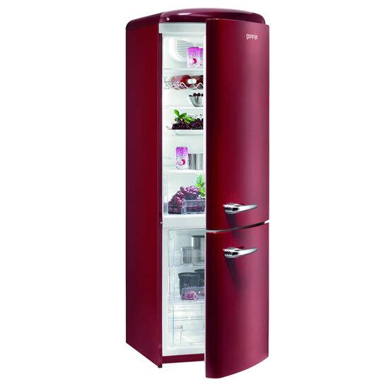 Gorenje RK60359OR 342litre RETRO Fridge Freezer Class A++ Bordeaux