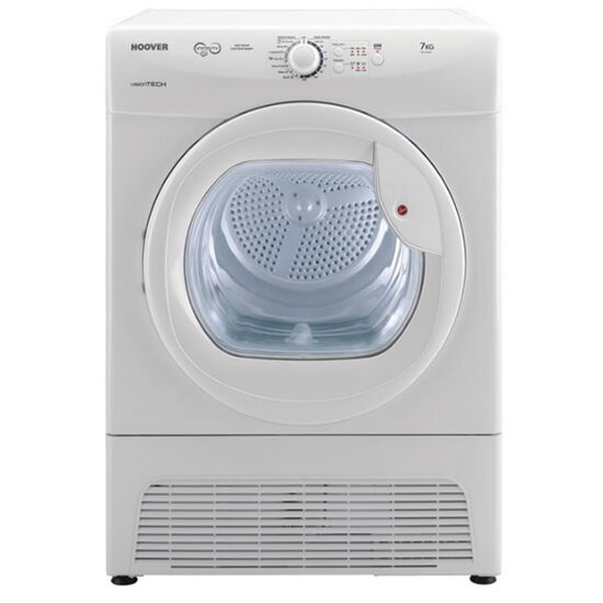 Hoover VTC671W 7kg Load Condenser Tumble Dryer 2Heat Settings