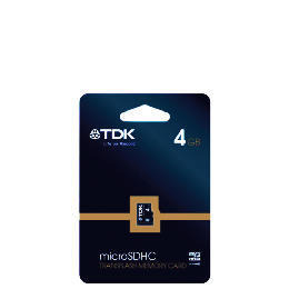 TDK 4Gb SDHC MEMORY CARD Reviews