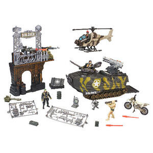 Photo of Soldier Battle Playset Toy