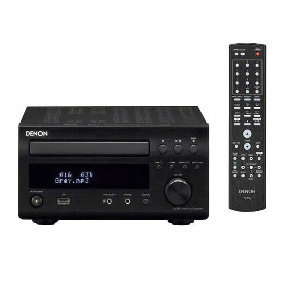 Denon DM38 without speakers