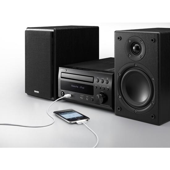 Denon DM38 with speakers