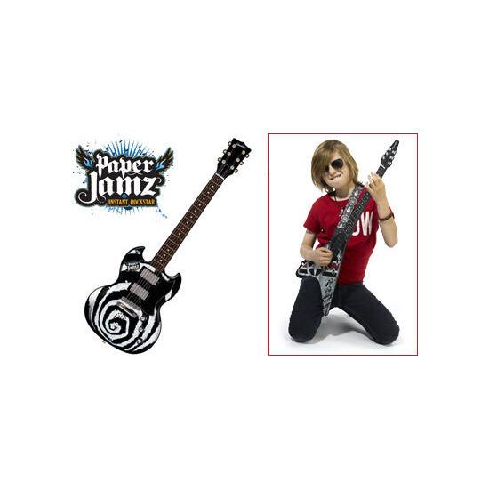 Paper Jamz Rock Guitar