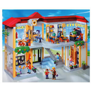 Photo of Playmobil 4324 Furnished School Building Toy