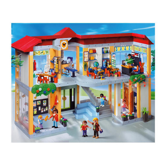 Playmobil 4324 Furnished School Building