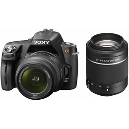 Sony DSLR-A390Y with 18-55mm and 55-200mm lenses Reviews