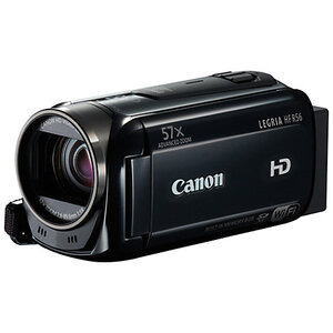 Photo of Canon HF R56 Camcorder - Black Camcorder