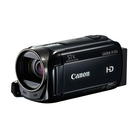 Canon HF R56 Camcorder - Black