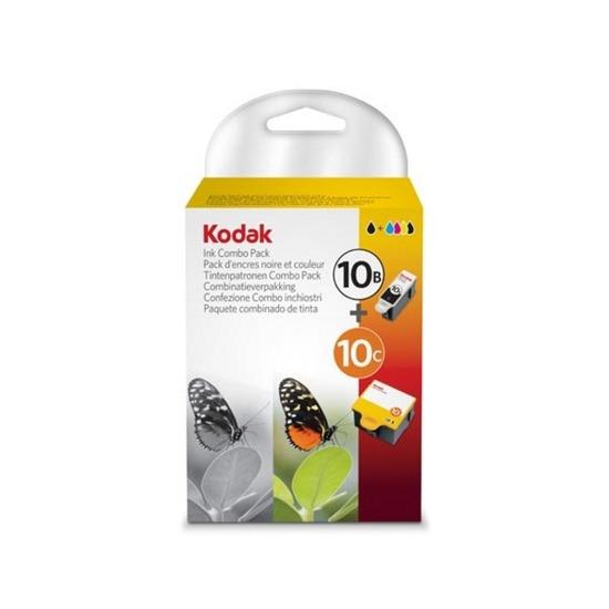 Kodak 10B and 10C Printer Ink Cartridge Combo Pack