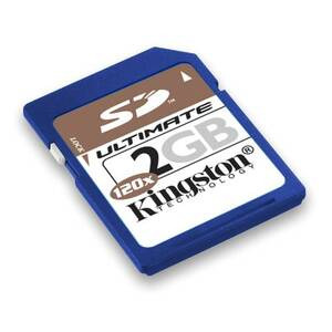 Photo of Kingston SD 2GB U Memory Card