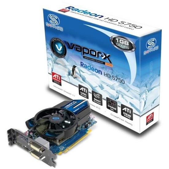Sapphire ATI Radeon HD 5750 Vapor-X