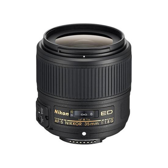 Nikon AFS Nikkor 35mm F1.8G ED Lens