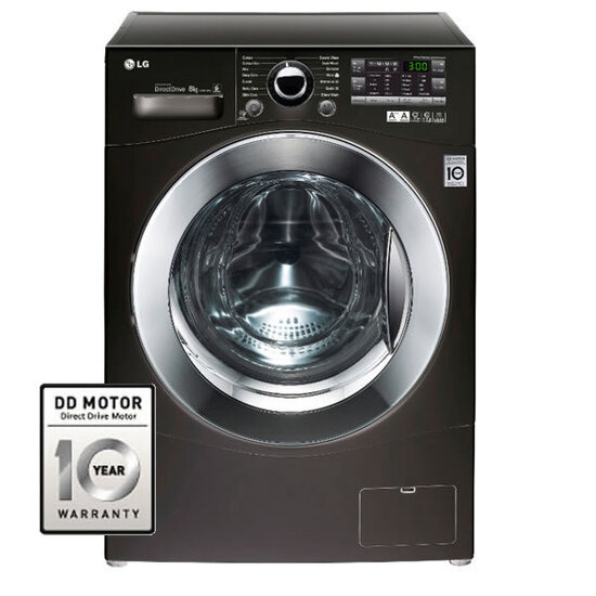 LG F12A8TDA6 1200rpm DD Washing Machine 8kg Load Class A