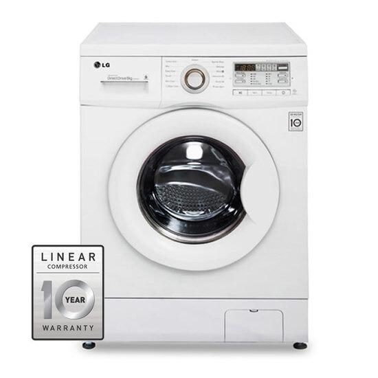 LG F12B8NDA 1200rpm DD Washing Machine 6kg Load Class A