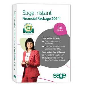 Photo of Sage Instant Financial Package 2014 Software
