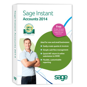 Photo of Sage Instant Accounts 2014 Software
