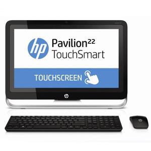 Photo of HP Pavilion 22-H010EA F6J48EA TouchSmart AIO Desktop Computer