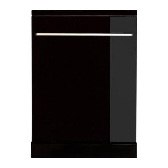 SDW60GB13 Full-size Dishwasher - Black Glass