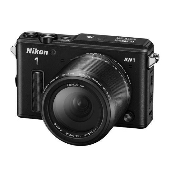 Nikon 1 AW1 with 11-27.5mm lens kit