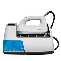 Hotpoint SG DC11 A A1 UK Steam Generator Iron - White & Blue Reviews