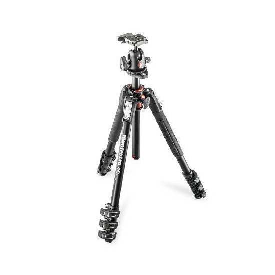 Manfrotto 190 4 Section Tripod with 496RC2 Head