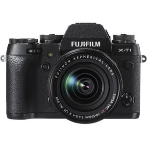Photo of Fujifilm X-T1 Compact System Camera In Black + XF18-55MM Lens Digital Camera