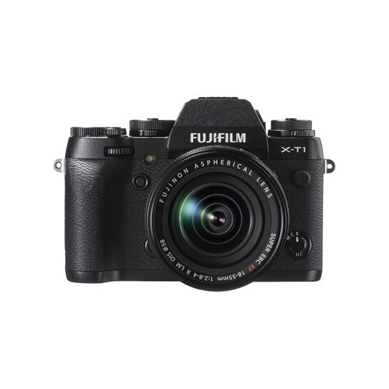 Fujifilm X-T1 Compact System Camera in Black + XF18-55mm Lens