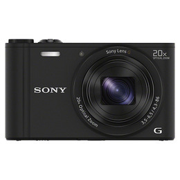 Sony DSC-WX350 Black Camera Kit inc 8GB SD Card and Case Reviews