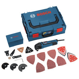 Bosch GOP250CE Multitool in L-Boxx 48 Accessories Reviews