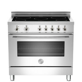 Rangemaster Professional 90 X90INDMFEX Electric Induction Range Cooker - Stainless Steel