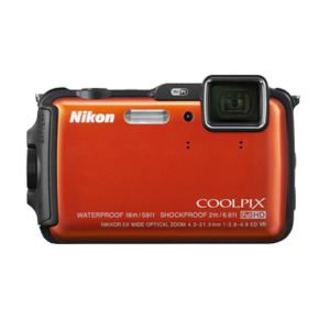 Photo of Nikon Coolpix AW120 16MP Camera - Black Digital Camera