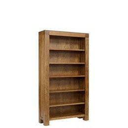 Ametis Santana Rustic Oak Full Bookcase